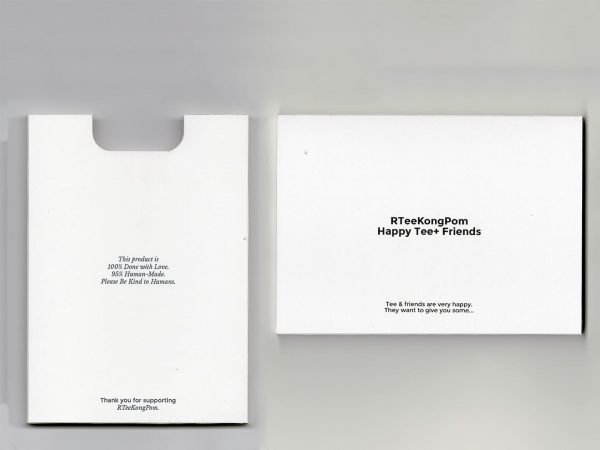 PostcardSet_RTeeKongPom_HappyTee+Friends_Package2